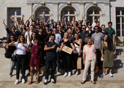 Promo 2019 en visite à Carcassonne