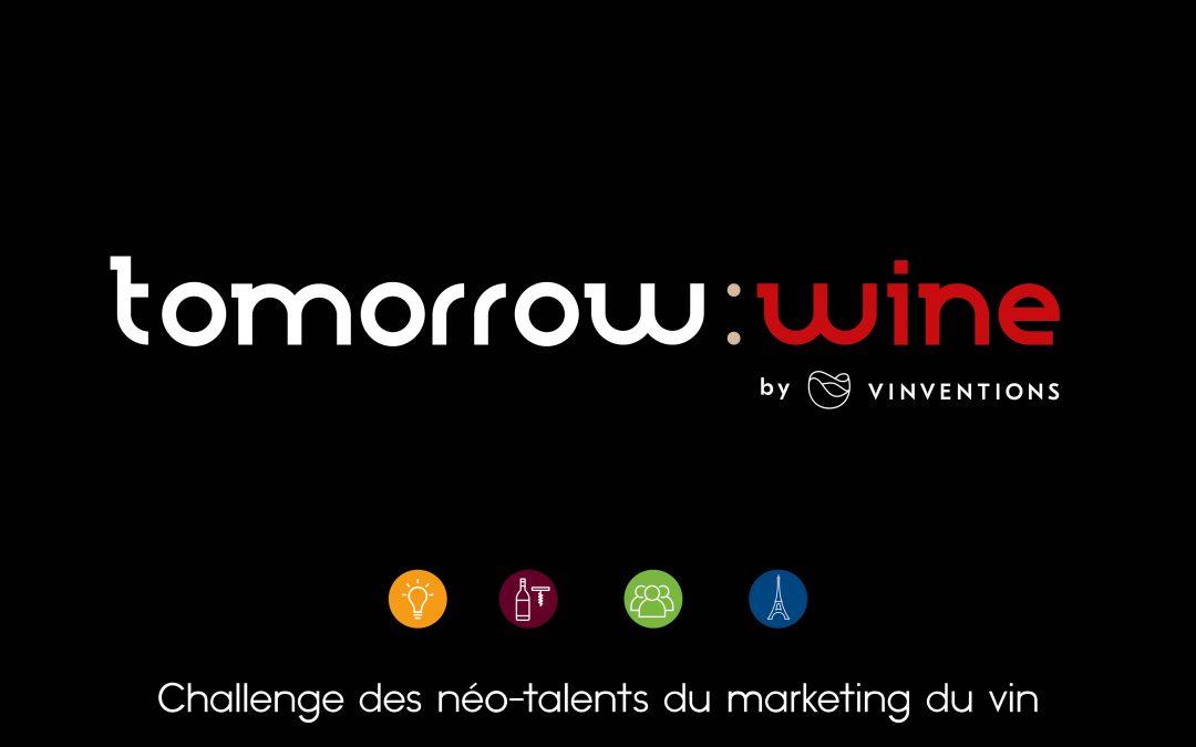Concours Marketing du vin Tomorrow Wine : On est en finale !