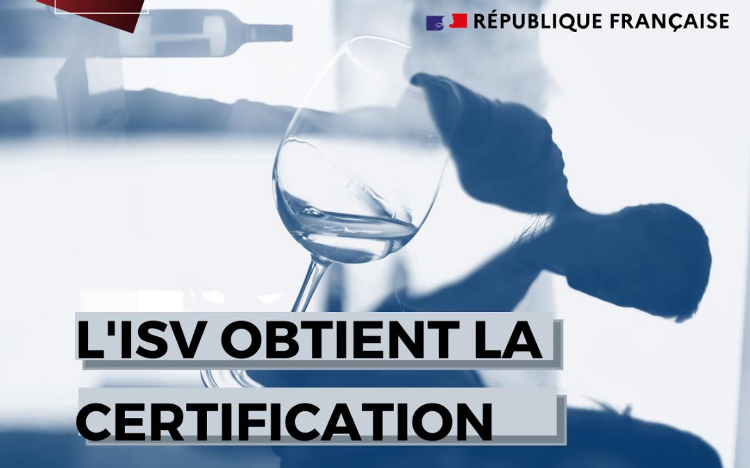 L'ISV obtient la certification Qualiopi !